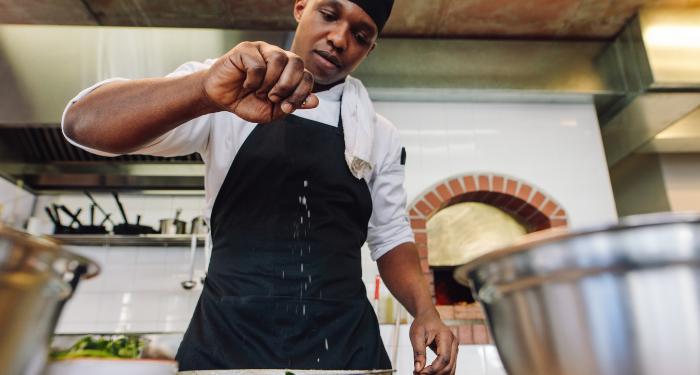 Black chef