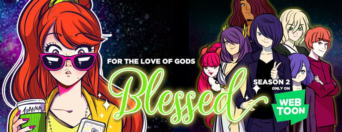 Blessed webtoon cover