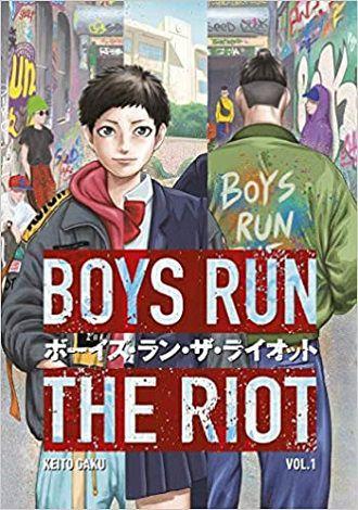 Boys Run the Riot 1 cover - Keito Gaku