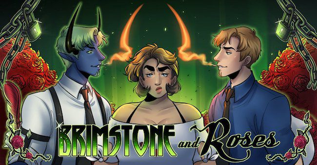 Brimstone and Roses banner
