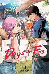 Days on Fes 1 cover - Kanato Oka