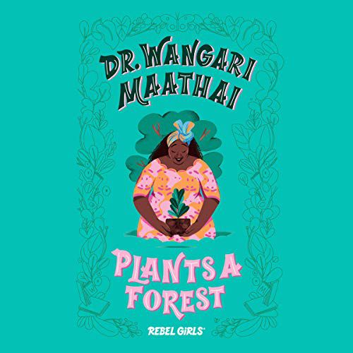 Dr Wangari Maathai plants a forest cover