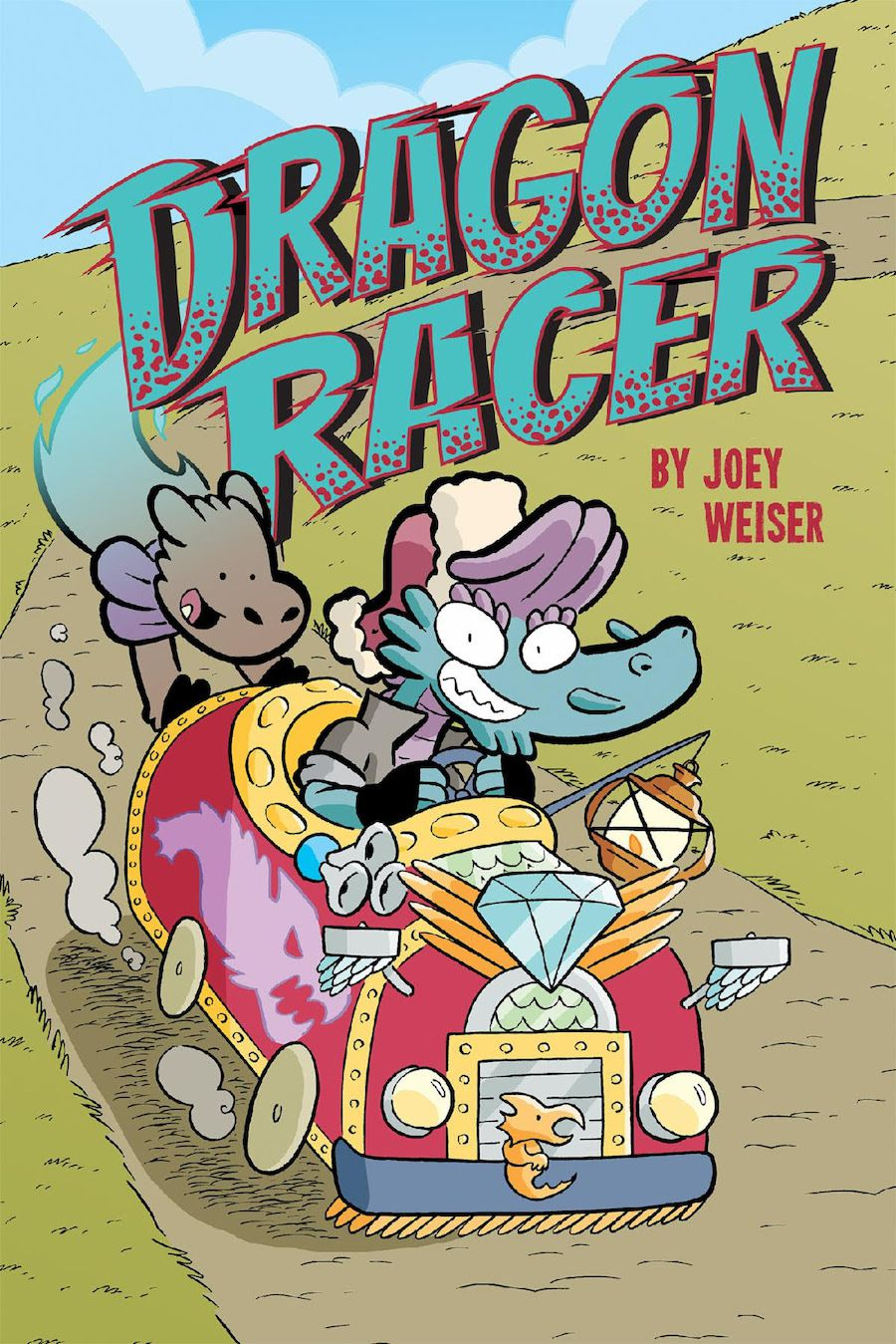 cover image of Dragon Racer by Joey Weiser