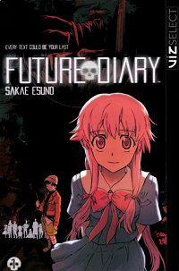 Future Diary 1 cover - Sakae Esuno