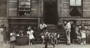 Harlem Tenement in Summer, 1935 historical