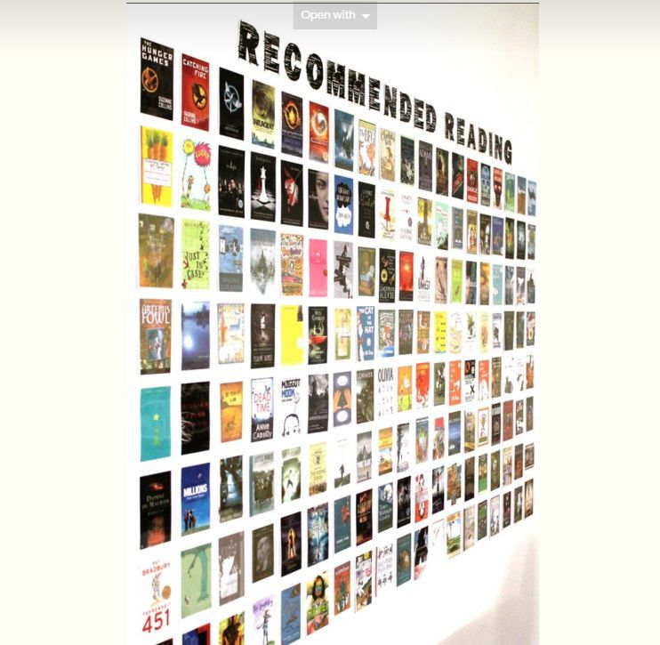 Recommended Reading Display