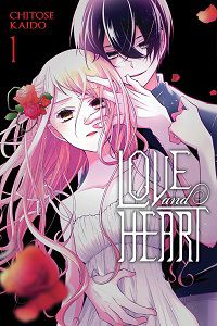 Love and Heart 1 cover - Chitose Kaido