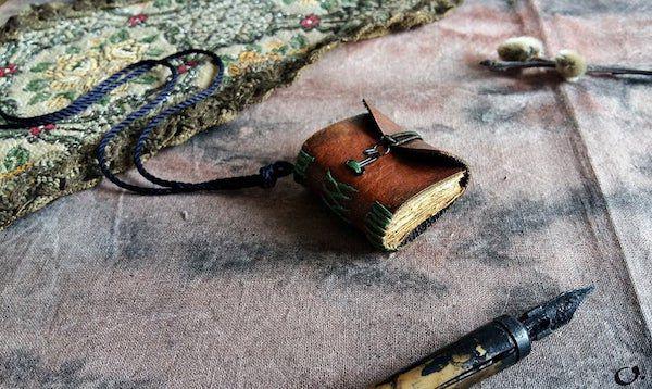 Miniature Diary pendant