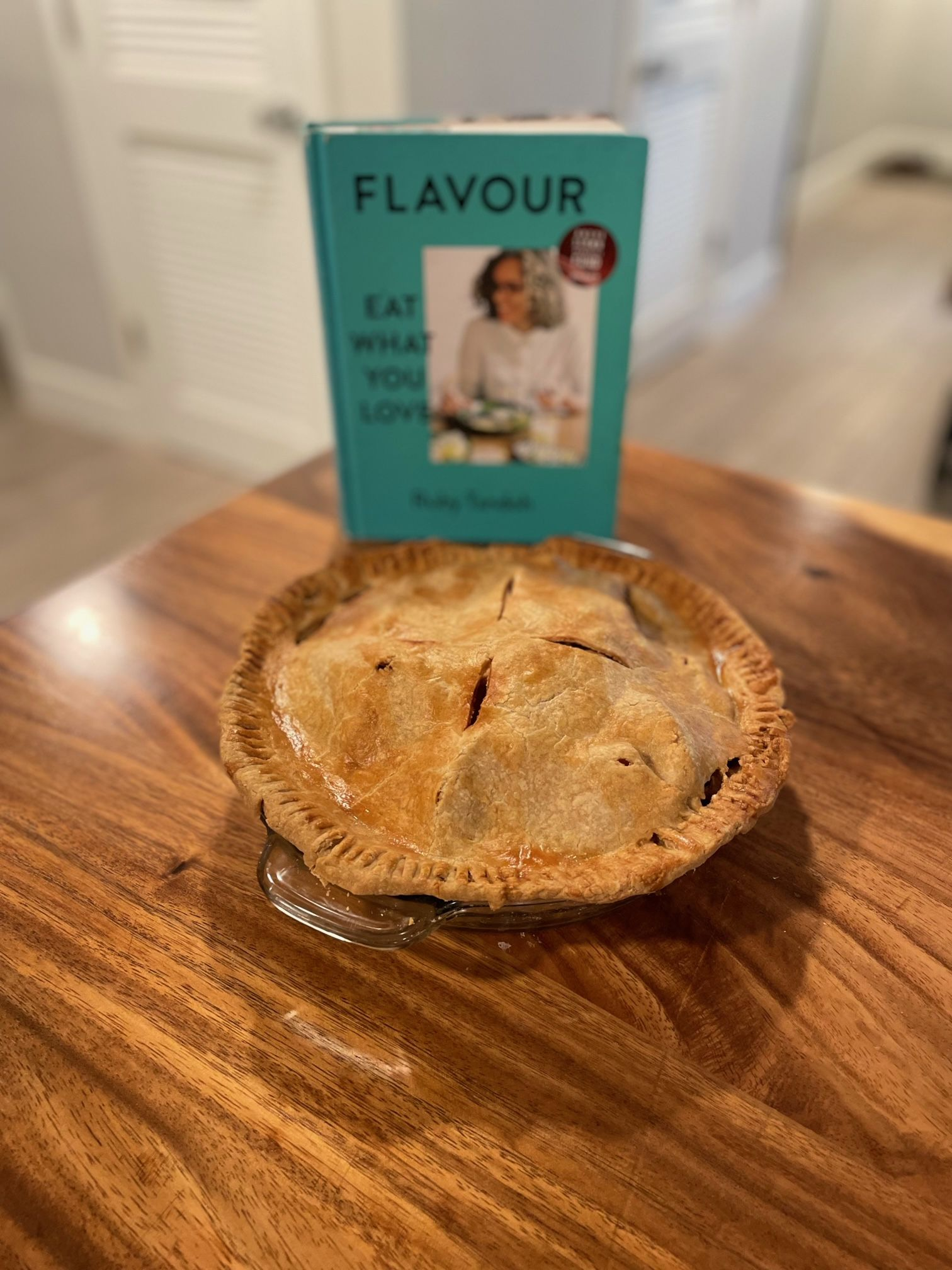 Apple pie with Flavour by Ruby Tandoh cookbook