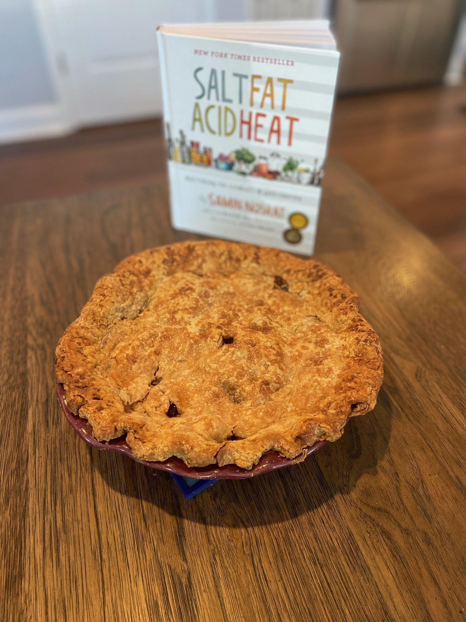 Apple pie with Salt, Fat, Acid, Heat by Samin Nosrat