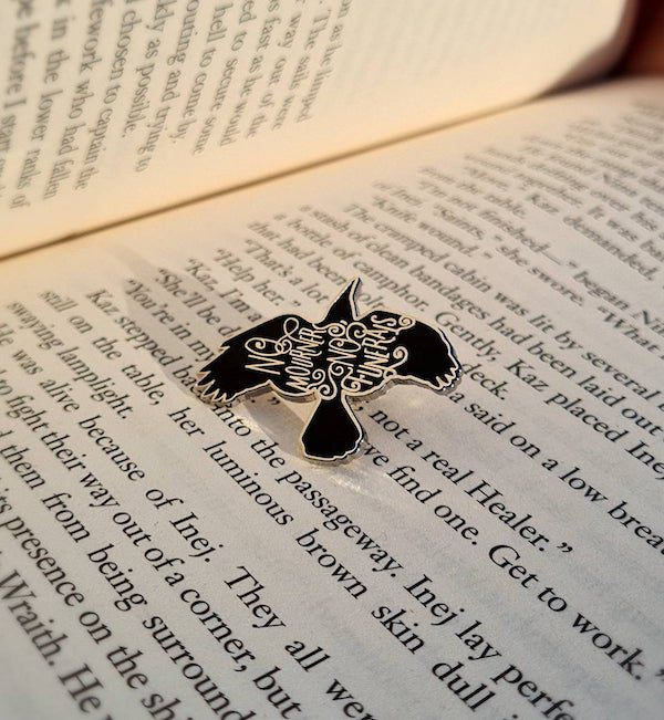 Six of Crows 'No Mourners No Funerals' Enamel Pin