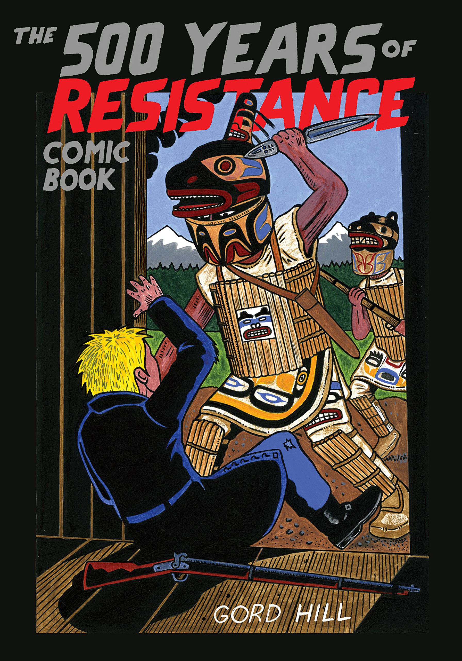 The 500 Years of Resistance Comic Book cover