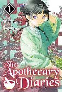 The Apothecary Diaries 1 cover - Natsu Hyuuga