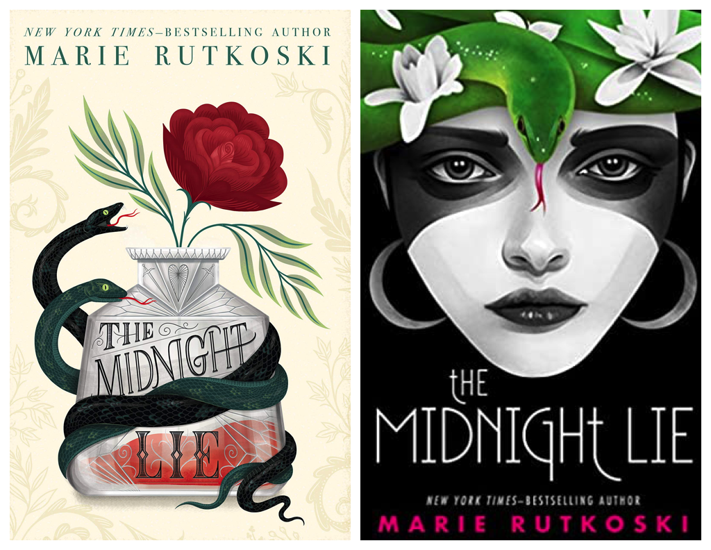 The Midnight Lie hardcover and paperback covers