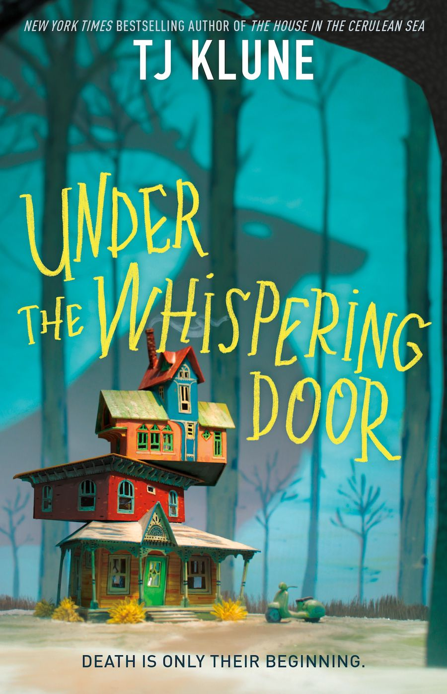 cover image of Under the Whispering Door by TJ Klune