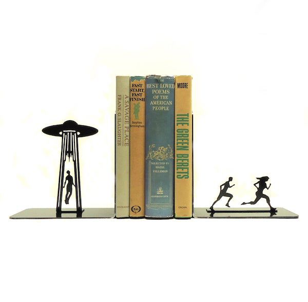 Image of ufo abduction bookends