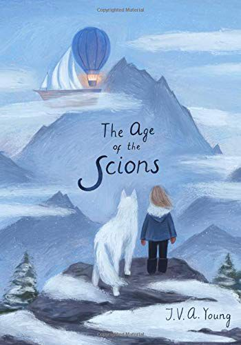 cover image of The Age of the Scions by J.V.A Young