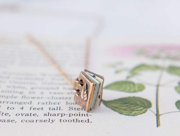 bronze mini book