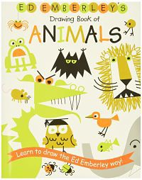 Cover of ed emberley's drawing book of animals