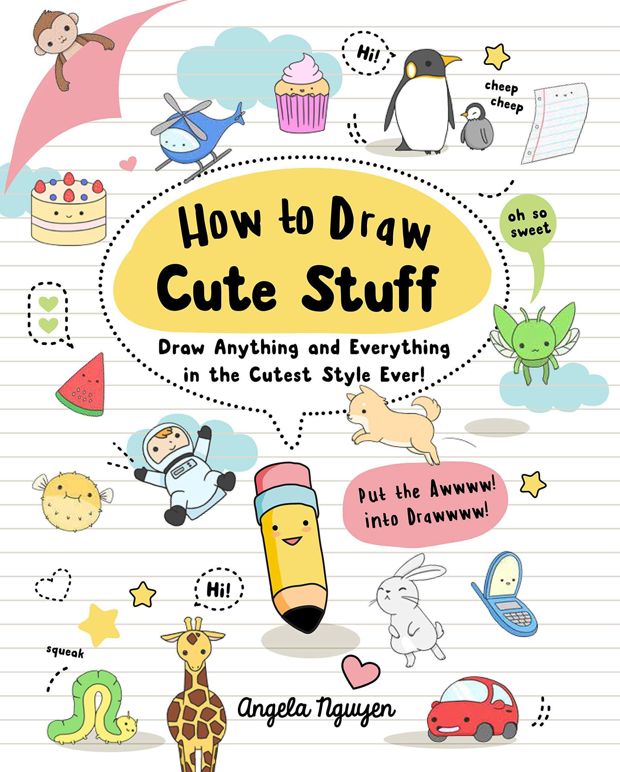 Cover of how to draw cute stuff by nguyen