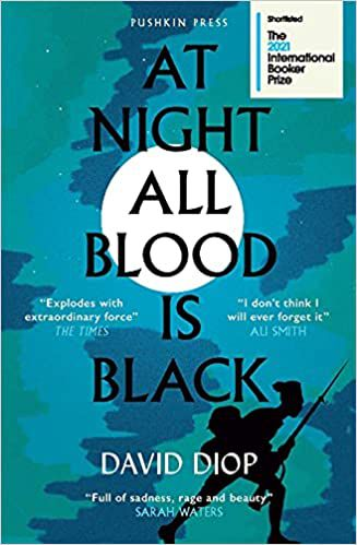 cover image of At Night All Blood is Black by David Diop