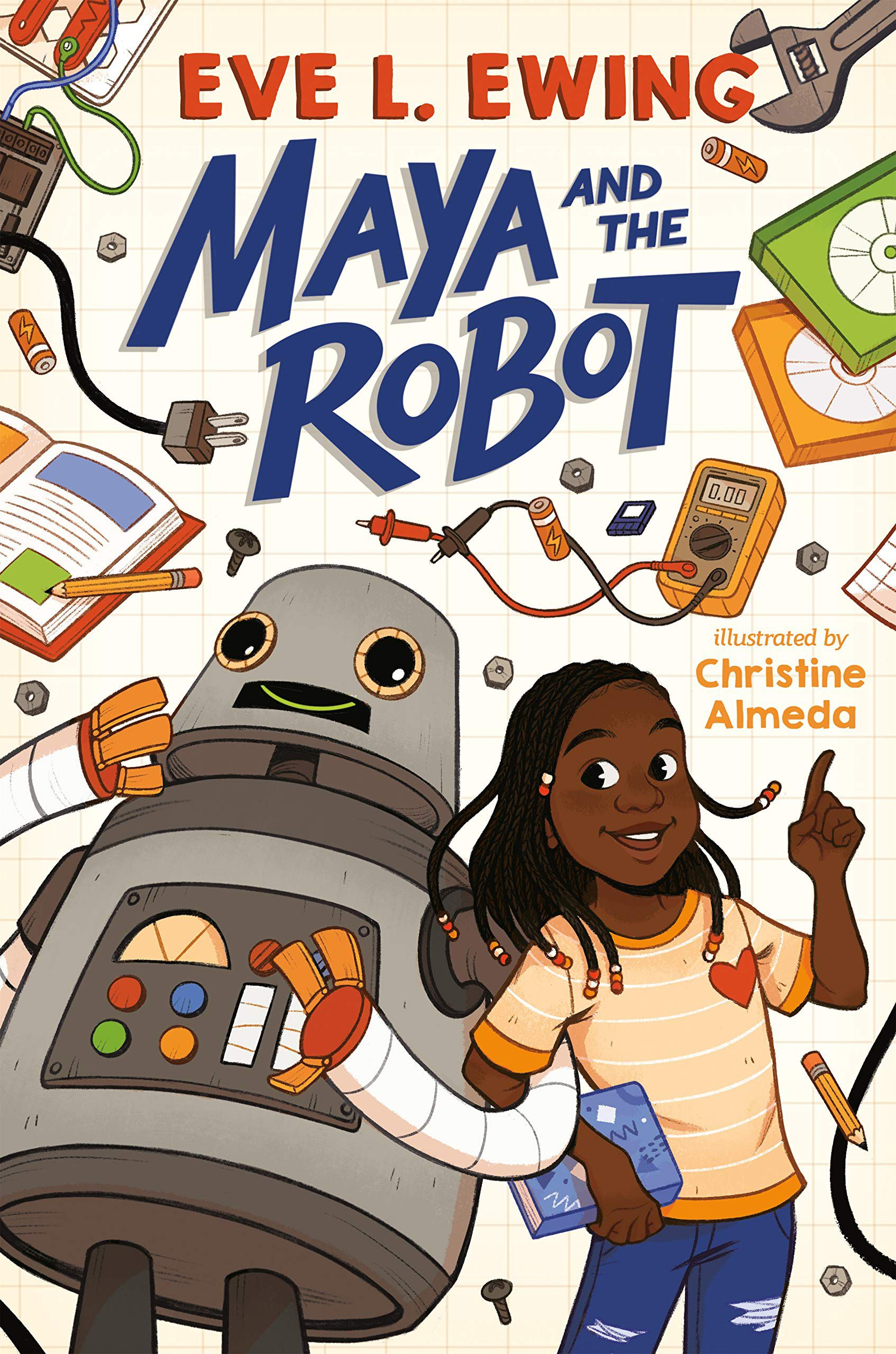 Cover of Maya and the Robot by ewing