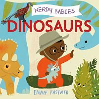 cover of nerdy babies: dinosaurs by kastner