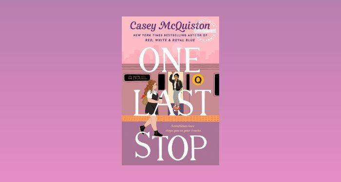 cover image of One Last Stop by Casey McQuiston