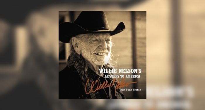 audiobook cover image of Willie Nelson's Letters to America by Willie Nelson