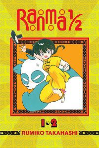 Ranma 1/2 vol. 1-2 by Rumiko Takahashi cover