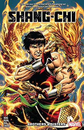Cover of Shang-Chi 2020 Comic