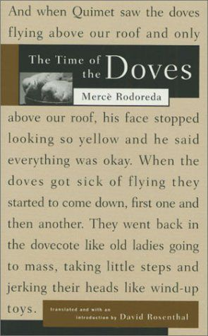 the time of the doves merce rodoreda
