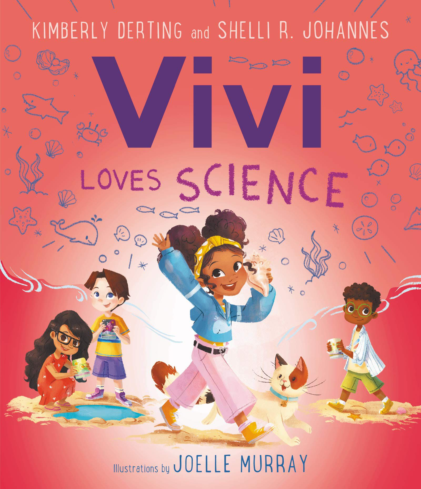 cover of vivi loves science by derting