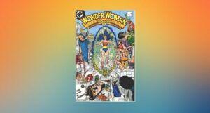 cover image of original Wonder Woman (Vol 2) #7 comic