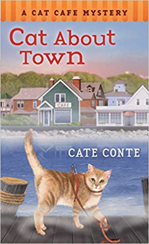 cat cafe mystery series cover