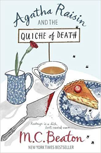 Agatha Raisin and the Quiche of Death cover