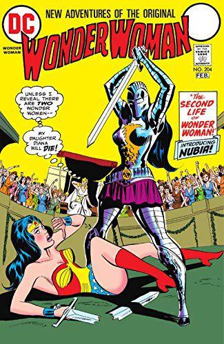 cover Wonder Woman Introducing Nubia Wonder Woman (1942-1986)