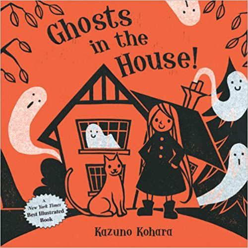 GHOSTS IN THE HOUSE! BY KAZUNO KOHARA cover