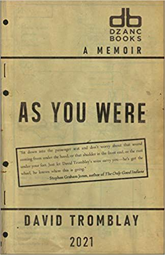 As You Were David Tromblay cover