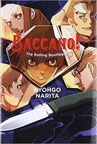 Baccano 1 cover - Ryohgo Narita