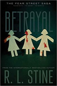 Cover of Betrayal by RL Stine.