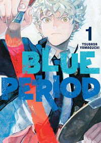 Blue Period volume 1 cover - Tsubasa Yamaguchi