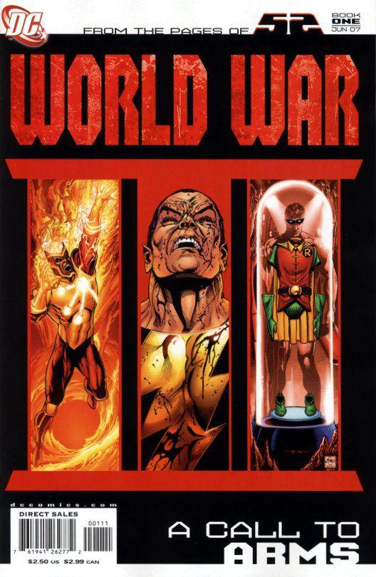 cover image of DC Comics World War III