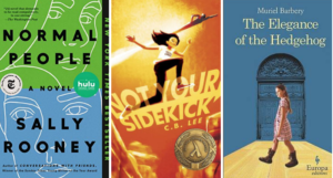 Collage of three book covers
