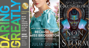 collage of covers of books listed
