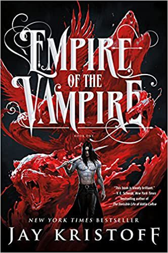 Cover of Empire of the Vampire by Jay Kristoff