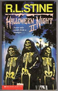 Cover for RL Stine's Halloween Night II.