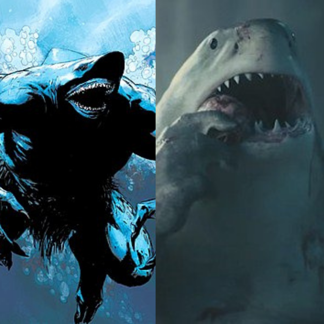 King Shark in The Suicide Squad | BookRiot.com