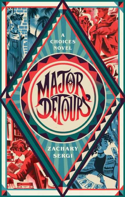 cover image of Major Detours: A Choices Novel by Zachary Sergi