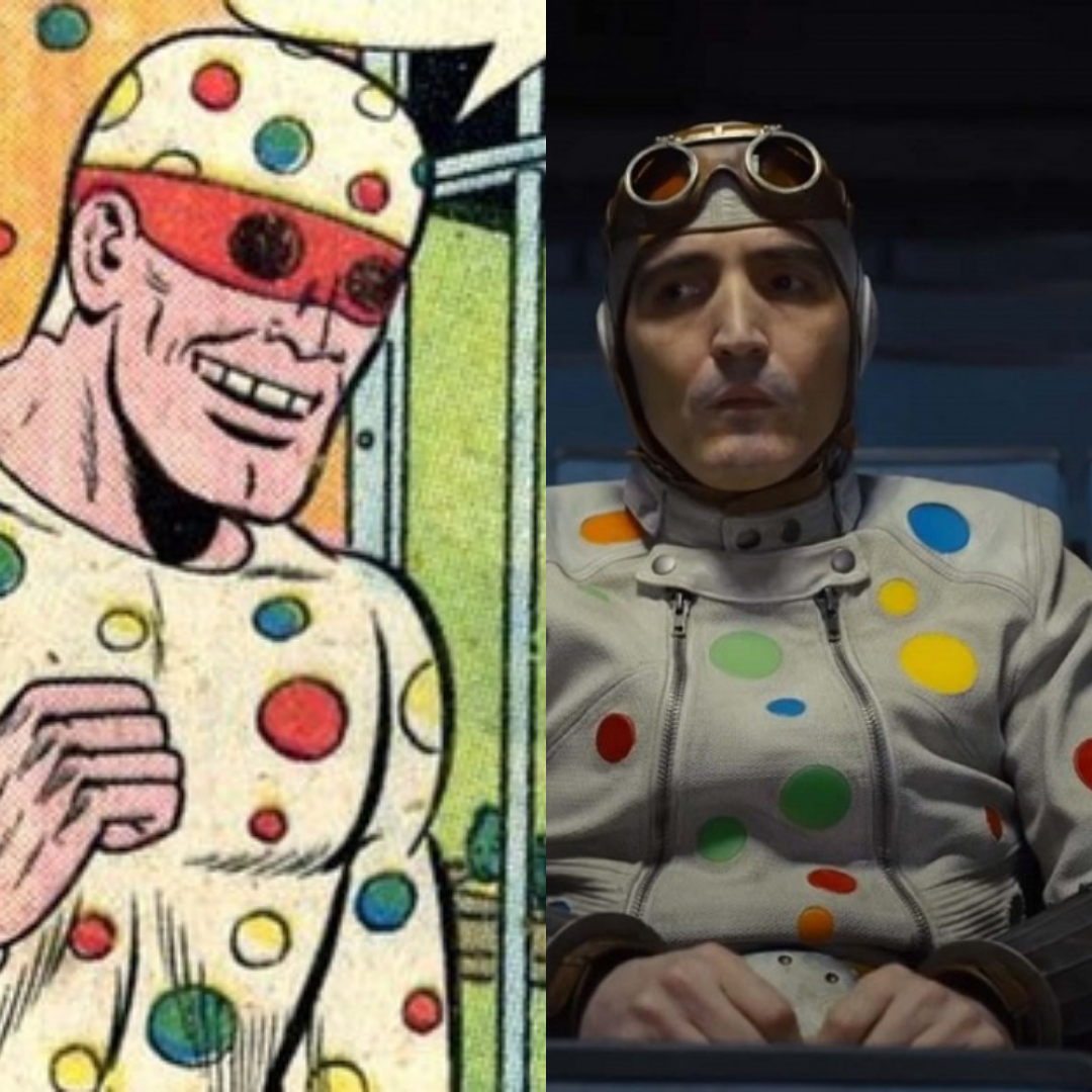 Polka-Dot Man in The Suicide Squad | BookRiot.com